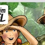 Headerbild Website komplett Mit Jim und Jane im Dschungel